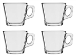 Pasabahce Vela Espresso Clear Glass Cup  Set of 4
