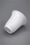 Polystyrene white disposable plastic espresso cup 80cc(3 oz) sold in sleeves of 100pcs.